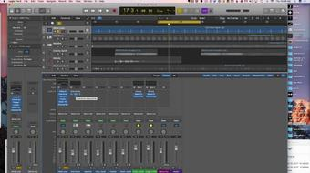 Logic Pro X Quick Start: Producing with Logic Pro X course image