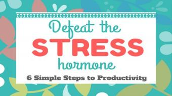 Defeat the Stress Hormone 'The Silent Killer' - A Blueprint to Productivity & Contentment course image
