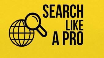 Search Like a Pro: How To Find Anything Online course image