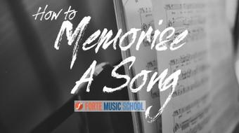 How to Memorise A Song - 6 Strategies to help you Sing with Confidence course image