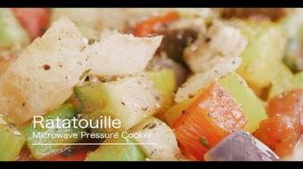 Microwave Pressure Cooker: Summer vegetables + Bitter Melon course image