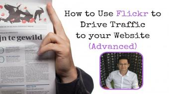 How to Use Flickr to Drive Traffic to your Website (Advanced) course image