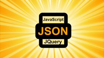 Working with JSON Data Arrays course image