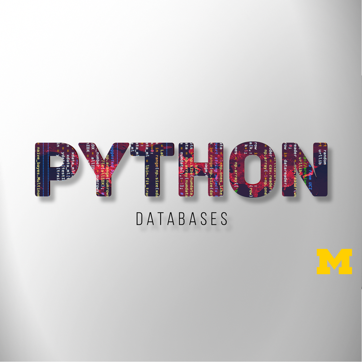 Using Databases with Python course image