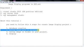 Photo saving and retrieve in Asp.Net course image