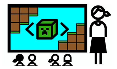 Minecraft, Coding and Teaching course image