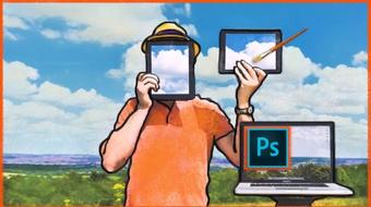 Animate In Photoshop: Easy Video Rotoscoping and Animating course image