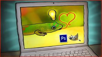 Photoshop   GIMP: Quick & Easy Image Hacks for Beginners course image