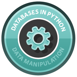 Introduction to Databases in Python course image