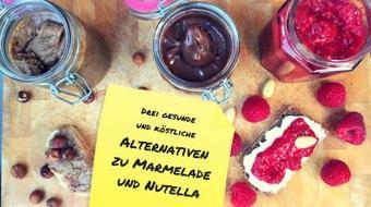 Frühstück: Drei gesunde Alternativen zu Marmelade und Nutella course image