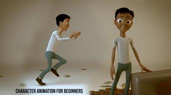 Introduction to 3D Character Animation: #1 - The Concepts course image