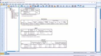 Excel Interpreting Output Multiple Regression Training course image