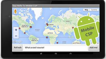 Mobile Computing with App Inventor: CS Principles Part II course image