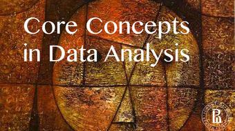Core Concepts in Data Analysis course image