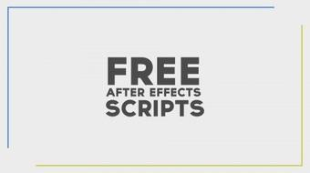 Free Resources:  How To Get After Effects Scripts For Free course image