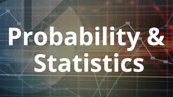 Probability and Statistics (Open + Free - April 2017 release) course image