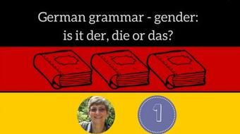 German grammar - gender: is it der, die or das? course image