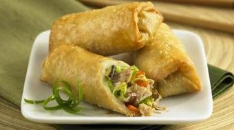 Quick and Easy Recipe For Crispy Fried Spring Roll course image