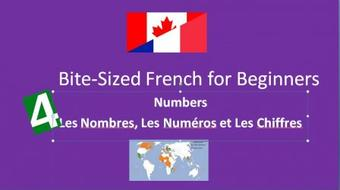 Bite-Sized French for Beginners: Numbers course image