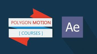 Flat Ribbon Design and Motion in After Effect course image