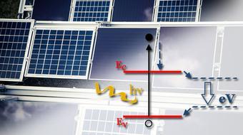 Physique des cellules solaires au silicium course image