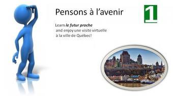 Pensons à l'avenir/ Une visite virtuelle à Québec course image