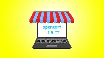 Start An Online Store A to Z Guide - OpenCart 1.5 Ecommerce course image