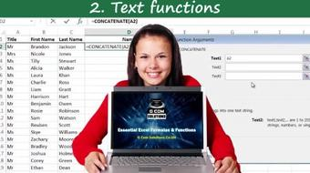 Essential Excel Formulas and Functions course image