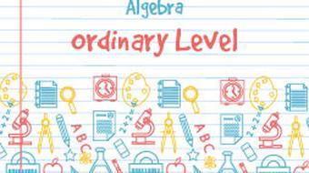 Junior Certificate Strand 4 - Ordinary Level - Algebra course image