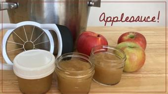 Fall Harvest: Homemade Applesauce course image