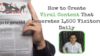 How to Create Viral Content That Generates 1,500 Visitors Daily course image