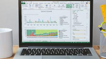Introduction to Excel 2013 Power Business Intelligence course image