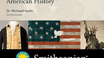 Experiencing America: A Smithsonian Tour through American History - DVD, digital video course course image