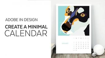 Adobe In Design - Create a Minimal Calendar course image