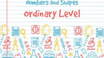 Junior Certificate Strand 3 - Ordinary Level - Numbers and Shapes course image