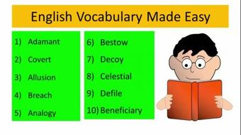 English Vocabulary Made Easy : Learn 40 + Vocab ( Volume-1 ) course image
