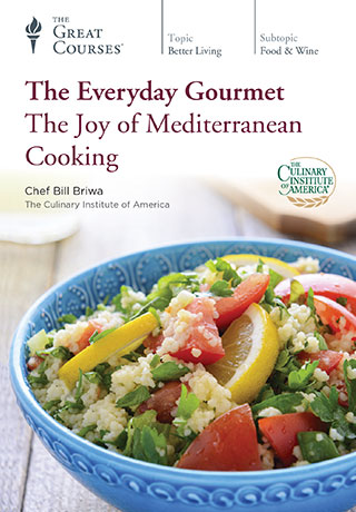 The Everyday Gourmet: The Joy of Mediterranean Cooking - DVD, digital video course course image