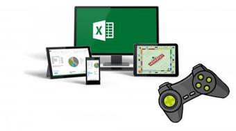 Bored at Work? Have a Blast with Microsoft Excel Games! course image