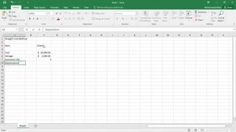 Financial Functions in Excel 2016 Series Part 1:Depreciation course image