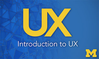 Introduction to User Experience course image