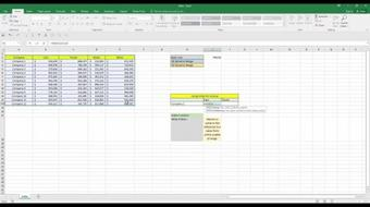 Learn how to create Excel dashboards Part 2 - Functions Part 2 course image