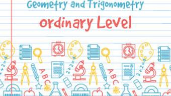 Junior Certificate Strand 2 - Ordinary Level - Geometry and Trigonometry course image