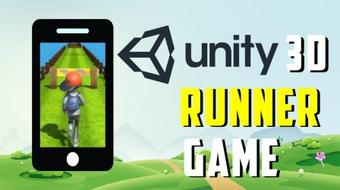 Build a 3D Runner Game With Unity - Learn Unity Android Game Development course image
