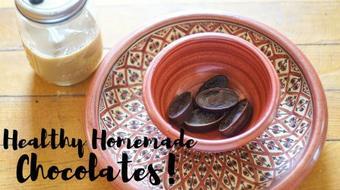 DIY Healthy Homemade Chocolates Recipe course image