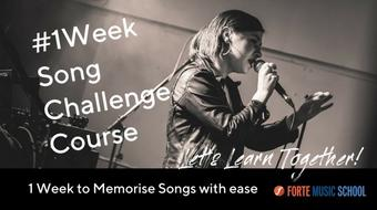 The 1 Week Song Challenge Course - Memorise songs easily in 5 days. course image