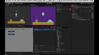 Make a 2D Platformer Video Game with Unity and PlayMaker (no coding required) [Part 3] course image
