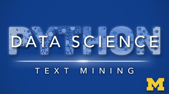 Applied Text Mining in Python course image