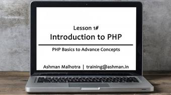 PHP Basics To Advance Concepts - Part 01 course image