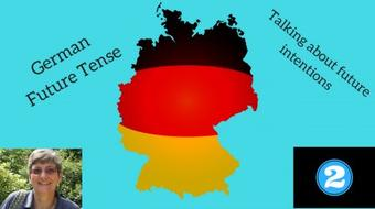 German grammar - future tense #2 - talking about future intentions course image