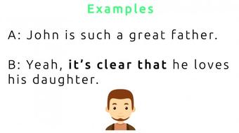 English Speaking Patterns Mastery: It's clear that... course image